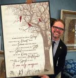 I Can Only Imagine Name Of Mercyme'S Single Also Name Of The Film Signature Birds Landing On Trees Poster And Canvas