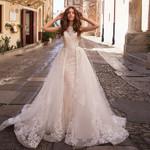 Appliques Lace Mermaid Wedding Dresses