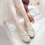 Loafers flats moccasins Shoes Genuine Leather shoes Flats Slip