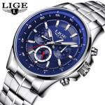 Top Brand Luxury Military Sports Quartz Watch Business Leather