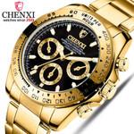 Golden Wristwatches For Watches Casual Quartz Watch Luxury Brand