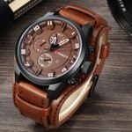 Military Quartz Watches Top Brand Luxury Leather Watch Casual