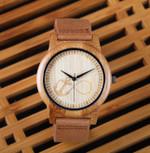 New Top Brand Design Bamboo Watches Quartz Wood