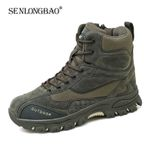New Boots Military Rubber Combat Ankle Boots Fashion Sneakers Casual