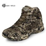 Boots Camouflage Warm Wool Cotton Army Combat Tactical Military Shoes