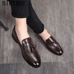 loafers leather dress brand coiffeur formal shoes