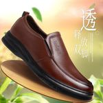 Oxfords Leather  Shoes Fashion Casual Pointed Top Formal Business