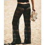 Sexy Lace Trousers Boho Loose Wide Leg Pants