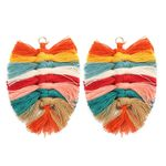 New Design Bohemian Style Leaf Shape Tassel  Fashion