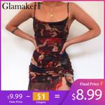 Sexy mesh transparent short blackless sleeveless elegant dress