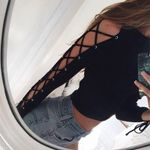Fashion Sexy Long Sleeve Casual Crop Tops Bandage