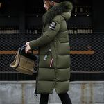 Solid Casual Thicker Slim Down Lammy Jacket Coat Overcoat