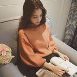 Sweater  Long  Lanter Sleeve Solid Turtleneck Knitting Tops slim long sleeve