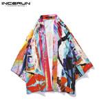Fashion Japanese Style Kimono Printed Vintage Loose Sleeve