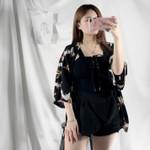 Thin Fashion Coat Japanese Student Cardigan Kimono