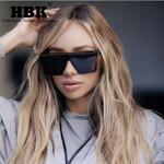 Oversized Square Sunglasses New Fashion Brand Designer