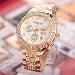 Watches Fashion Luxury Brand Wristwatches Relogio Gold Steel Quartz