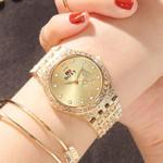 Watches Fashion Luxury Diamond Gold Wrist Watch