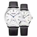 Couple for Lovers Genuine Leather Strap Quartz Casual Watches