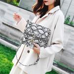 snake printed handbag crossbody bags Fashion Tassel Snake