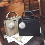 Shoulder High Quality Fashion Leather Bags New Rivet handbag