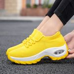 Platform Sneakers Breathable Casual Shoes Flats