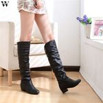 Slim Sexy Over The Knee High Suede Snow Boots