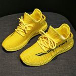 Spring Sneakers Yellow Pink Black Fashion Casual Shoes