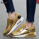 gold basket sneakers shoes Casual Shoes