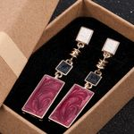 New Fashion Gold Color Everyday Drop Earring Pendientes