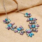 Trendy Statement Necklaces & Pendants Crystal Maxi
