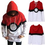 Long Sleeve Pokemon Costume Hoodie Sweatshirt Top Casual