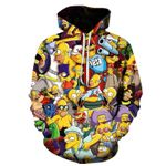 new Simpson Printed 3D Sweatshirts Quality Hooded
