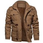 Fashion Plus Size Jacket Long Sleeve Stand Collar Slim Shirt Casual
