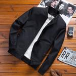 Spring Casual Bomber Fashion Jacket Warm