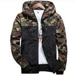 Spring Casual Camouflage Hoodie Jacket Waterproof Clothes