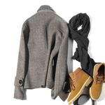 Double-sided Wool Coat British Casual Jacket Spring Short