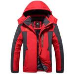 Outdoors Jackets Plus Size  Thicken Fleece Warm Coats  Outwear Waterproof