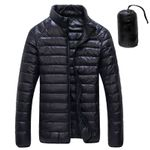 White Duck Downs Jacket Ultralight Portable Parkas Coat Casual