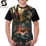 Silent Hill  T-Shirt  Percent Polyester  Graphic Tee Shirt Graphic Short-Sleeve