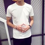 Trendy T Shirt Casual Loose Short Sleeve Slim Basic Tops Tees