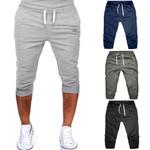 sweatpants Gym Workout Jogging Pants Fit Elastic Casual Sportswear