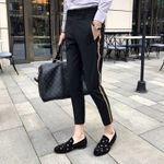 Side Tape Pant Dress Pant Business Casual Office Trousers