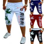 casual shorts new Casual Fashion print hip hop shorts  colors streetwear
