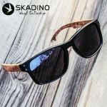 Sunglasses Polarized Beech  Wooden Sun Glasses Blue Green Lens