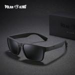 Brand Polarized Sunglasses Plastic Oculos de sol Fashion Square