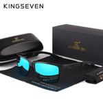 Square  Polarized Coating Mirror Sun GlassesEyewear Sunglasses