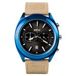 New Watches Stopwatch Genuine Leather Top Brand Luxury Sports