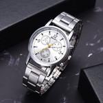 Fashion Steel Belt Analog Sport Quartz Wrist watch