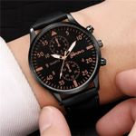Fashion Military Quartz Watch Leather Sport Watches